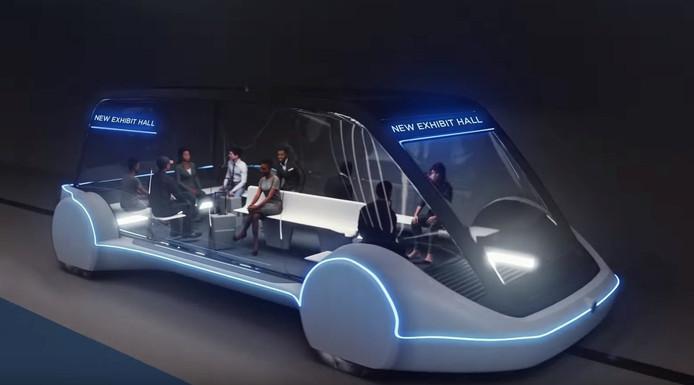 Zo zou het vervoer door de tunnels er straks uit kunnen zien