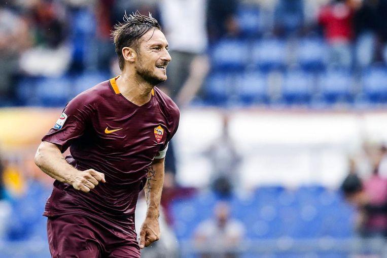 Francesco Totti. Beeld ap