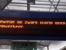 Storm over Zwolle, 'op Tenerife waait het nu bijna niet'