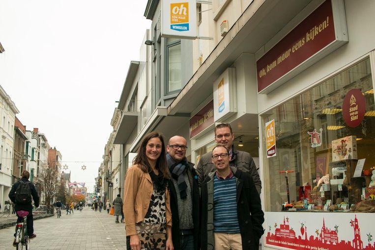 Het 'retail lab', het winkelpand waarin nu tijdelijk de 'Winkel van de Sint' is ondergebracht en dat wordt gehuurd door het Centrummanagement, wordt pas binnen een jaar stopgezet.