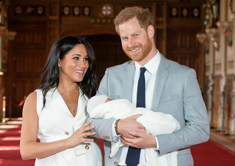 Harry, Meghan en Archie