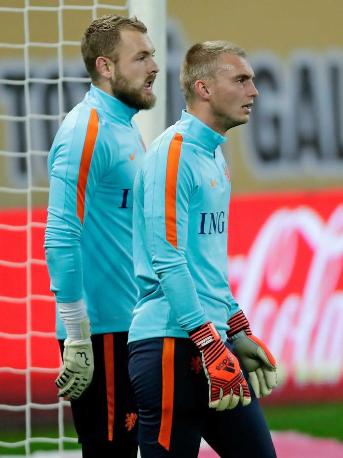 Jeroen Zoet en Jasper Cillessen.