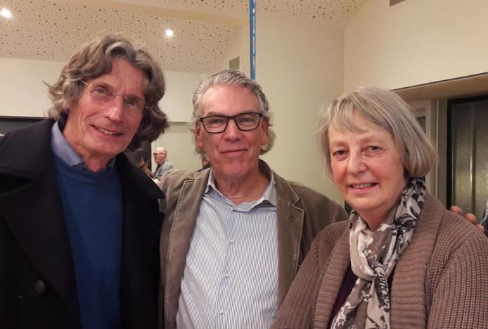 De ChristenUnie is de grote winnaar en heeft nu drie zetels.  Andries Jumelet, Huib Bouwman en Barbara van den Bogaerdt.