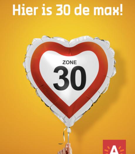 """""""In Antwerpen is 30 de max"""": stad lanceert campagne over zone 30"""