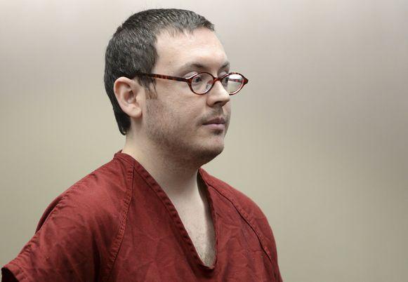 James Holmes kreeg in 2015 twaalf keer levenslang, zonder kans op vervroegde vrijlating.