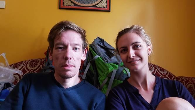 """Koppel uit Ieper raakt met Duitse steun terug thuis na hels avontuur in Nepal: """"Andere landen probeerden zo snel mogelijk hun inwoners te repatriëren, behalve België"""""""