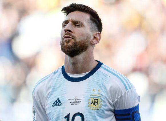 Lionel Messi da Argentina   FOOTBALL  Argentine vs chile - copa - 06/07/2019 © PanoramiC ! only BELGIUM !