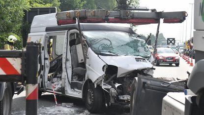 Zwaar ongeval op E313