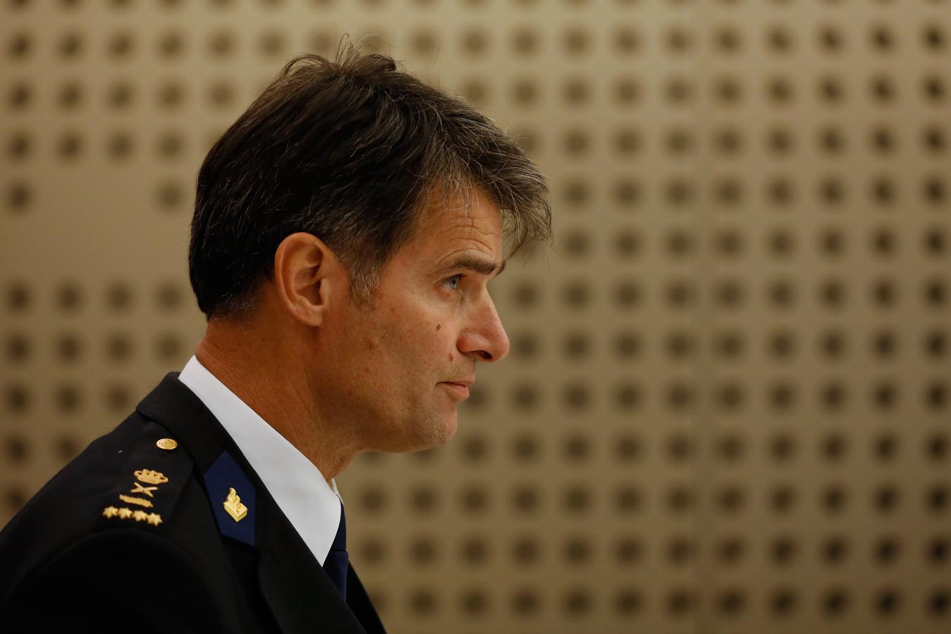 Korpschef Erik Akerboom.