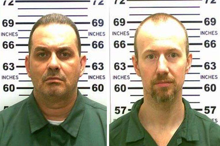 Richard Matt (links) en David Sweat.