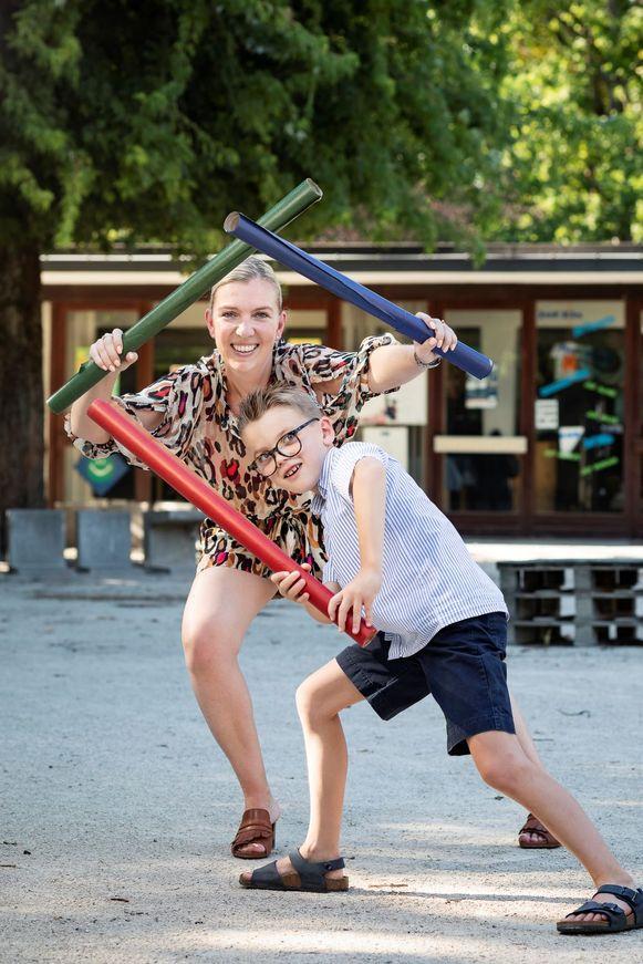 """Kim Ryssack: """"Matteo vraagt niet naar nieuwe schoolspullen"""""""