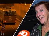 Feestelijke eerste rit door nieuwe Maastunnel in klassieke bus