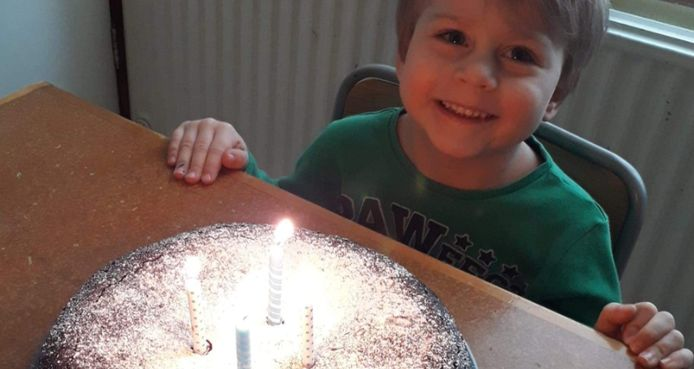 Le petit Eden a fêté ses quatre ans, le 31 mars 2020.