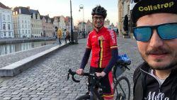 """Vrienden fietsen elke straat binnen de stadring af, goed voor 185 kilometer: """"Volgens de coronaregels en met social distancing"""""""