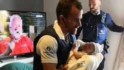"""""""Ik dacht: 'niet nog een kindje dat in mijn armen zal sterven'"""": agent Dries redt leven van drie weken oude baby"""