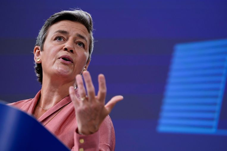 Margrethe Vestager, vicevoorzitter van de Europese Commissie