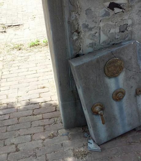 Monument brandkast Harbrinkhoek is beschadigd
