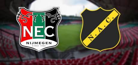 LIVE | NAC sterker in eerste kwart van de wedstrijd tegen NEC