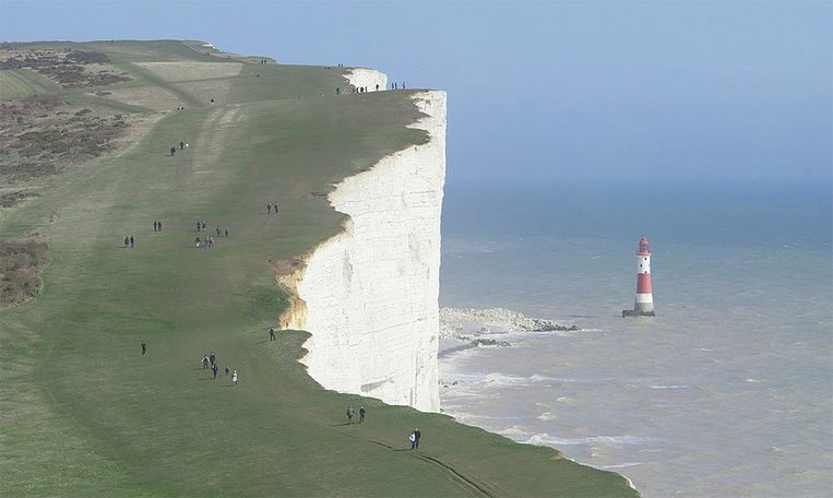 De Beachy Head-klif in het Engelse Sussex