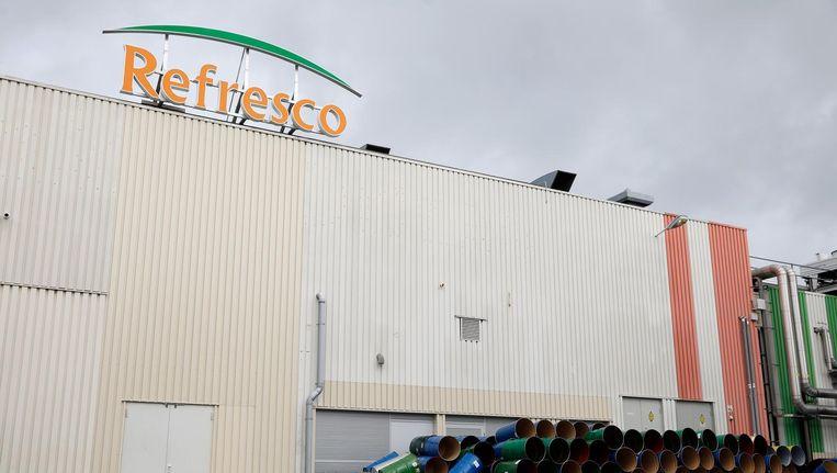Exterieur van de fabriek van Refresco. De sap- en frisdrankbottelaar heeft een overnamebod ontvangen van de Franse investeerder PAI Partners. Beeld anp