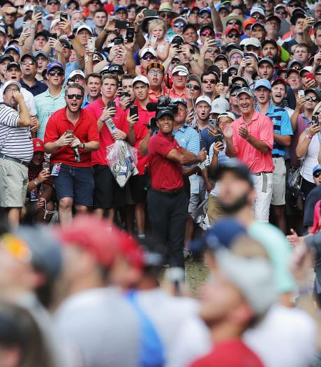 Koepka wint derde major; Woods verrassend tweede