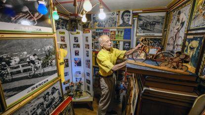 """Superfan Renaat (87) verzamelde alles over Merckx sinds 1966: """"Ik wil hem bedanken voor al het verzamelplezier"""""""