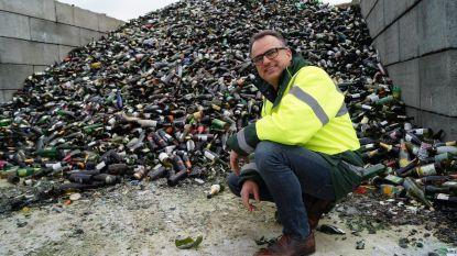 Afvalverwerkingsbedrijf Vanheede haalt dubbel zoveel glas op in januari