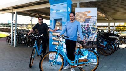 Fiets nodig aan station? Neem de Blue-Bike