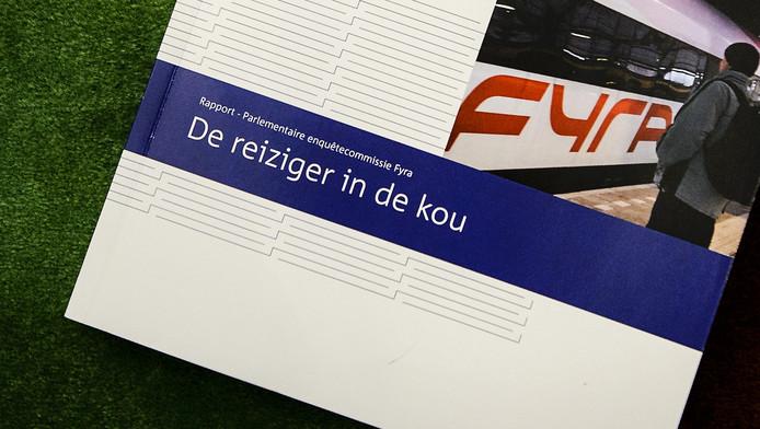 Het rapport De reiziger in de kou van parlementaire enquêtecommissie Fyra.