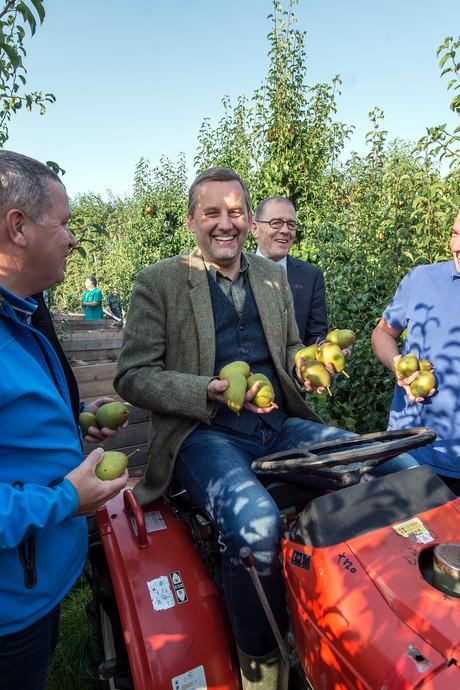 Bevelandse burgemeesters als toffe peren in de pluk