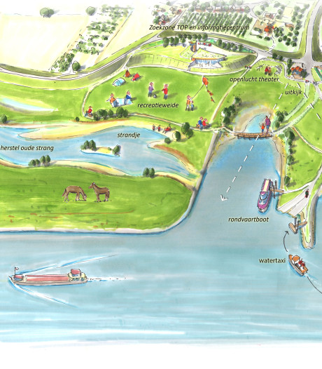 Veel extra huiswerk voor plan Veerhaven Ochten