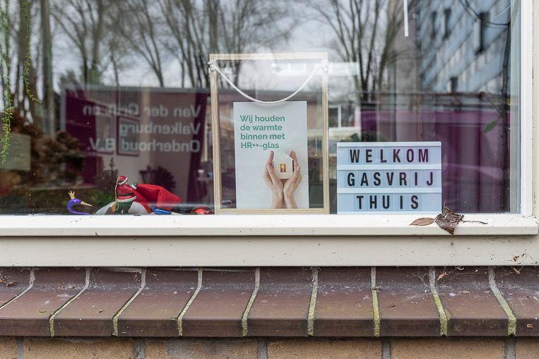 Gasvrije modelwoning in Overvecht-Noord. Beeld Harry Cock / de Volkskrant