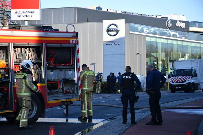 Brandweer en politie kwamen ter plaatse