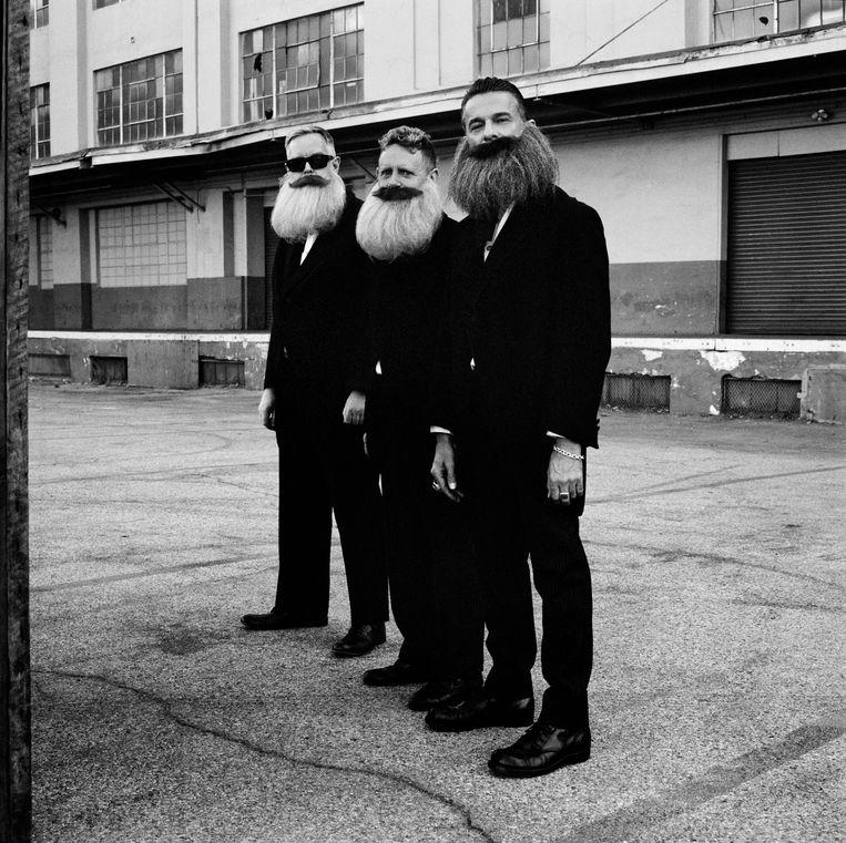 Depeche Mode,  Los Angeles 2016. Beeld Anton Corbijn