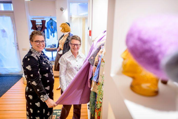 Studio Spitsbaard aan de Zuiderhagen van Jacky Peters en Conny Spitsbaard is één van de winkels die meedoet aan de  'vintageroute'.