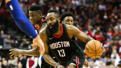 Houston wint na verlenging van Detroit, Cleveland naar play-offs