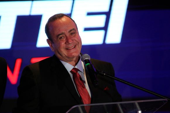 Alejandro Giammattei heeft de overwinning bij de verkiezingen in Guatemala opgeëist.
