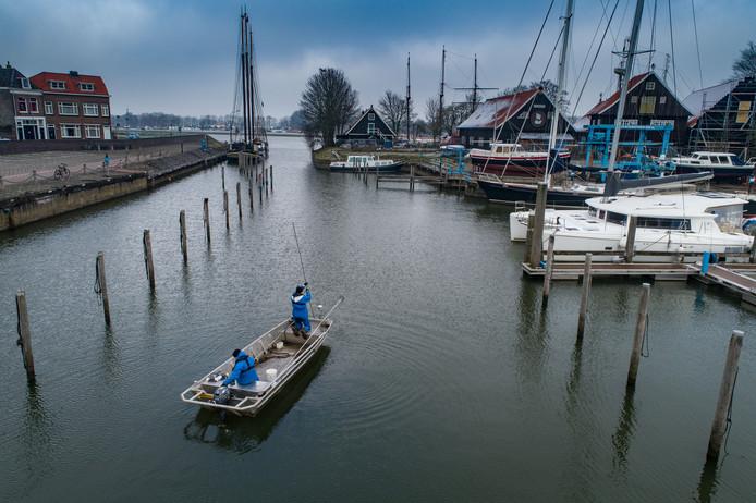 Aanvullend bodemonderzoek heeft uitgewezen dat het baggeren van de Buitenhaven zonder gevaar kan worden voortgezet.