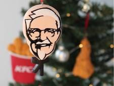 Weg met de kerstballen, hang kip in je boom