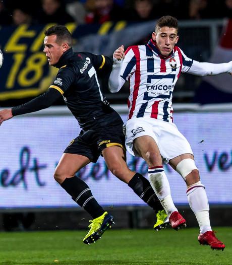 Willem II met Wijnaldum en Croux tegen NAC