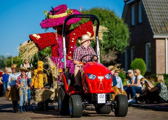 Het jeugdcorso trekt ook dit jaar door de straten van Sint Jansklooster.