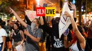 HLN LIVE. Opnieuw zware rellen tegen politiegeweld in VS, ondanks avondklok