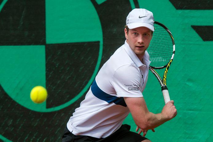 Doorwerth, 15 april 2018. Tennis: Duno - Lewabo. Botic van de Zandschulp. 188408. dgfoto . Foto: Gerard Burgers