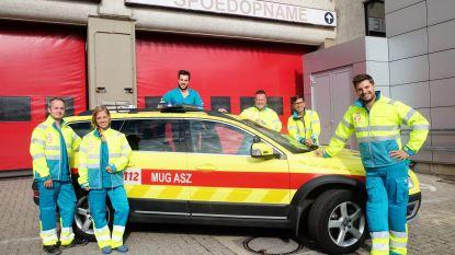 Nieuwe interventiekledij voor MUG-team ASZ