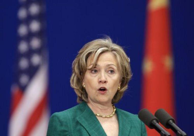 Hillary Clinton. ANP Beeld