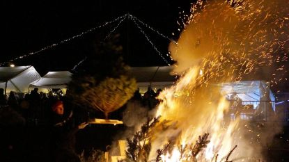 Nog één keer 'vervuilende' kerstboomverbranding op 19 januari in Gits