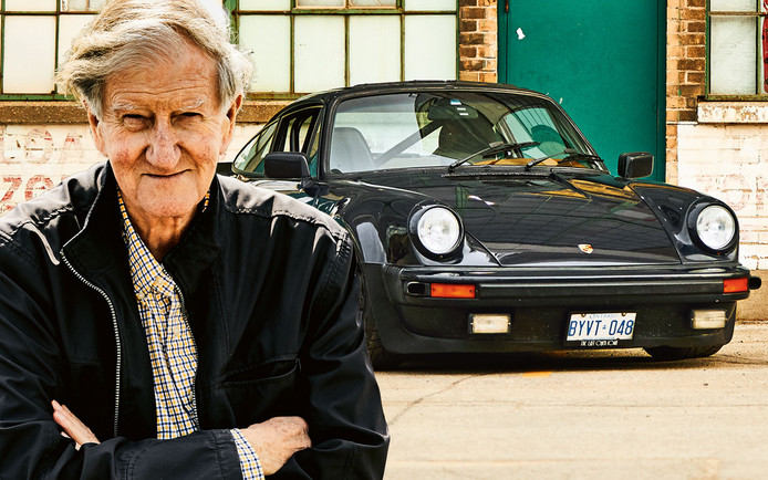 Bill MacEachern en zijn Porsche 911 Turbo.