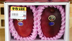 Wauw! Deze mango is het duurste stuk fruit ter wereld