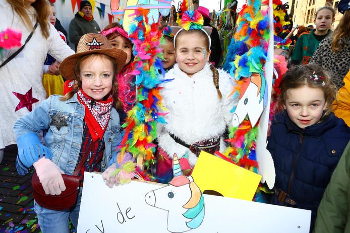 Kindercarnavalsoptocht in Kaatsheuvel