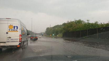 E40 opnieuw vrij na zware wateroverlast in Bertem